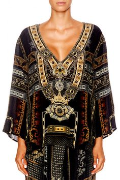 92c8e5216f Camilla For The Love Of Lhasa Vneck Oversized Blouse find it and other  fashion trends. Online shopping for Camilla clothing.