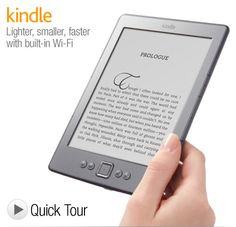 """Kindle, Wi-Fi, 6"""" E Ink Display - includes Special Offers & Sponsored Screensavers"""