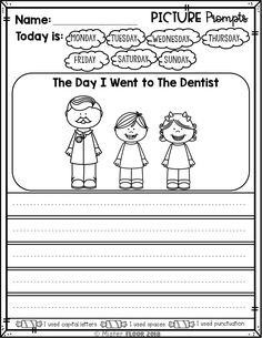 Opinion Writing Prompts, Writing Prompts Poetry, Kindergarten Writing Prompts, Writing Station, Writing Pictures, Sci Fi Books, Worksheets For Kids, Creative Writing, Small Groups