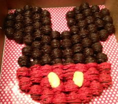 mickey mouse cookies made from oreos | Mickey Mouse