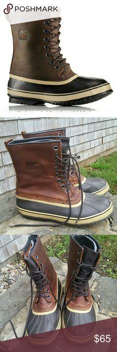 34fb20173f3e26 Men s Sorel Waterproof boots Excellent condition