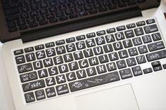 MacBook clavier Macbook Pro Keyboard Skin Macbook Air par FindFun