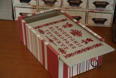 Hさんの作品・4つの引き出し の画像|Atelier Muguet - Cartonnage-