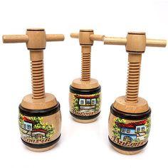 HANDMADE Wooden Corkscrew Bottle Screw Tailspin Wine Bulgarian Souvenir Opener   Home & Garden, Kitchen, Dining & Bar, Bar Tools & Accessories   eBay!