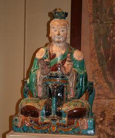 Период Мин, скульптура Будды