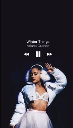 Perfect time to lisen to this song💚 Ariana Grande Anime, Ariana Grande Tattoo, Ariana Grande Songs, Ariana Grande Perfume, Ariana Grande Pictures, Ariana Grande Background, Ariana Grande Wallpaper, Ariana Grande Winter Things, Letras Ariana Grande