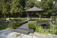 A residential property showcasing Havwoods decking