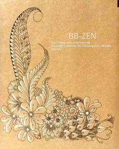 #zentangle #Zen #zendoodle #zentangleart #partten #artwork#thedoodlenotebook…
