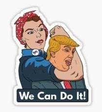 WE CAN DO IT Pegatina