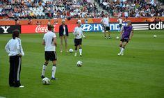 WM Vorrundenspiel 2011 Training im Borussen-Park