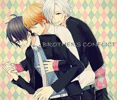 Azusa, Natsume & Tsubaki (Brothers Conflict)
