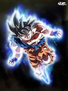 Ultra Instinct Goku wtf by NekoAR