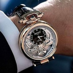 Here's one of the most amazing Bovet watches I've ever layed eyes on. #thetimpiecegentleman ~~~~~~~~~~~~~~~~ Photo Credi