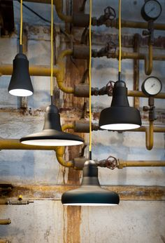 Shadows pendant light by Dan Yeffet and Lucie Koldova for Brokis Dailytonic