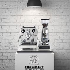 Turkish Rocket partners and the Giotto Evoluzione. Italian Espresso Machine, Coffee Shop, Coffee Maker, Coffee Equipment, Coffee Corner, Espresso Coffee, Cafe Bar, Coffee Machine, House Design