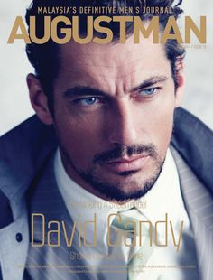 David Gandy for August Man Malaysia, June 2014. Full cover - digital version. Shot in NYC. Photographed by Chiun-Kai Shih. Styled by Marcus Teo