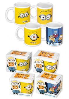 Pack 4 tazas Minion
