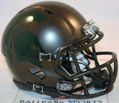 MICHIGAN STATE SPARTANS (BRONZE) Riddell Speed Mini Helmet in Sports Mem, Cards & Fan Shop, Fan Apparel & Souvenirs, College-NCAA   eBay