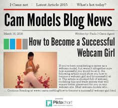 Latest article from www.i-camz.net Cam Models Blog - Want to know how to become a successful cam girl? www.i-camz.net/blog/how-to-become-a-successful-webcam-girl.html #HowToBecomeAWebcamGirl #WebcamModelTips