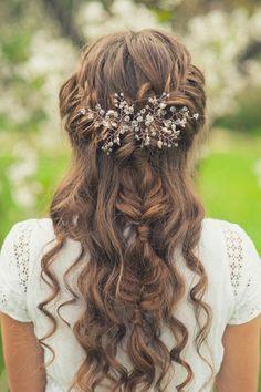 peinados semirecogidos para bodas y novias