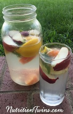 Apple Cider Vinegar Detox Drink | Great Way to Start Your Morning and Get Back on the Healthy Track | Flushes Bloat, Helps Body Neutralize Toxins | For MORE RECIPES, fitness & nutrition tips please SIGN UP for our FREE NEWSLETTER www.NutritionTwins.com