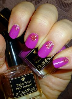 """Mirenesse """"Love Tornado"""" and Twinkle Twinkle"""" Bullet Proof Nail Lacquer Twinkle Twinkle, Nail Polish, Nails, Finger Nails, Ongles, Nail Polishes, Polish, Nail, Sns Nails"""