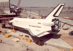 Shuttle Enterprise at 1984 World's Fair.  First, last and only time I saw a Space Shuttle.  It was really awesome!