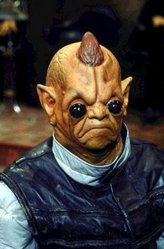 An Advozse on the set of the Star Wars Holiday Special.