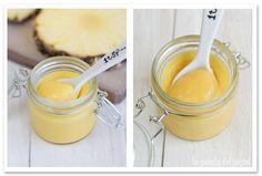 La guinda del pastel: Crema de piña. Pineapple curd