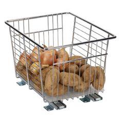 Amazon.com: Household Essentials Undersink Sliding Organizer, Chrome, 12-Inch: Home & Kitchen
