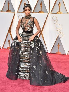The Academy Awards 2017 Janelle Monáe in Elie Saab Couture and Forevermark Diamonds