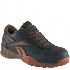 RB940 Reebok Women's Euro Safety Shoes - Brown www.bootbay.com