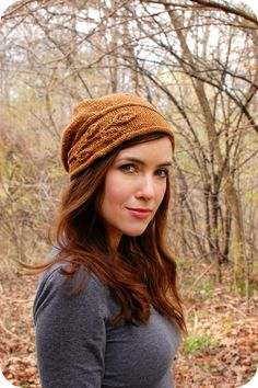 Never Not Knitting: Sprig Cloche