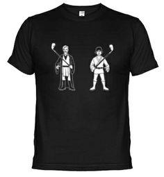 Star Wars Golfers. Luke Skywalker and Obi Wan Kenobi. #golf #films #starwars #tshirt