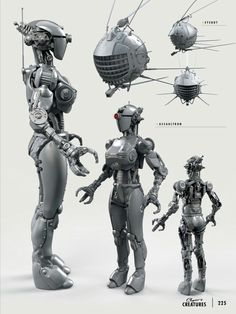 The Art of Fallout 4 - Assaultron Fallout 4 Concept Art, Fallout Fan Art, Robot Concept Art, Game Concept Art, Fallout Four, Fallout Props, Fallout New Vegas, Fallout Tattoo, Fallout Cosplay