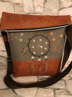 Schultertaschen - FoldOver Tasche, Handtasche, Traumfänger - ein Designerstück von Kleine-Wollbude bei DaWanda