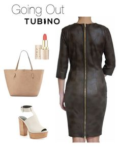 Going Out with Olive Dress by tubino-skirts-dresses on Polyvore featuring mode, Rebecca Minkoff and Neiman Marcus