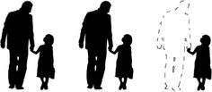 Absent father syndrome:  https://www.psychologytoday.com/blog/co-parenting-after-divorce/201205/father-absence-father-deficit-father-hunger
