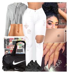 """""""Untitled #758"""" by msixo ❤ liked on Polyvore featuring adidas, NIKE and Mura"""