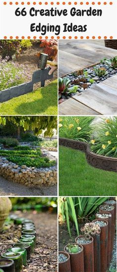 It's the subtle touches in your garden that make all the difference. So I've sourced 66 of the most creative garden edging ideas that will set your garden apart. Some of them are high-end and uber ...  #GardenIdeas