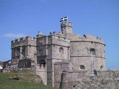Pendennis Castle, Falmouth, Cornwall, England, UK