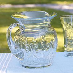 It's prop closet Tuesday!  Enter for your chance to win the Simone Glass Pitcher!  http://www.plateandpattern.com/index.phppostid=490=45467
