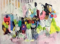 Cynthia  Brown - Lost in Oklahoma. #Colorful #abstract #art