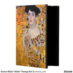 "Gustav Klimt ""Adele"" Vintage Art Powis iPad Air 2 Case - Sold at Encore_Arts on Zazzle #artfulgifts"