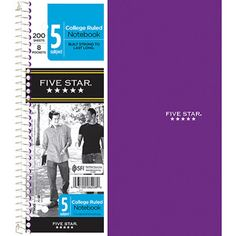 Five Star Wirebound Notebook $6.97
