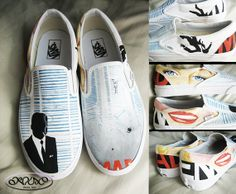 Mad Men custom shoes! You can't go wrong with these.