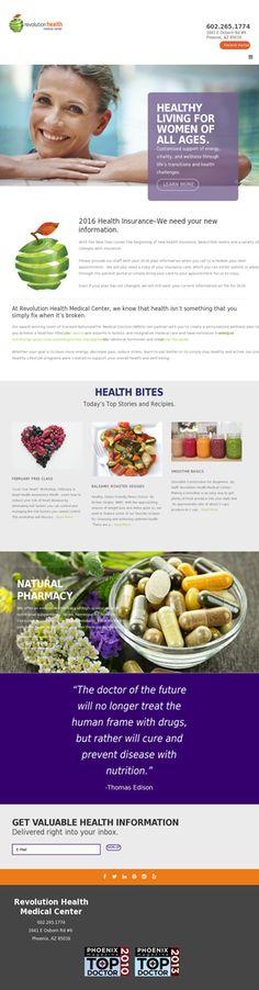 Revolution Health Medical Center.  revolutionhealthaz.com #naturopathic #chronicpain #acupuncture #massage