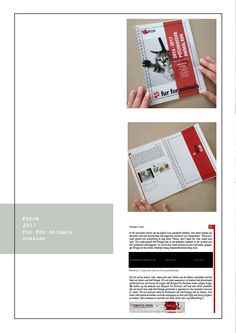 Portfolio Laura Pelgrims - Fur For Animals pitchdossier