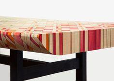 Collection Endgrain par Raw Edges - Journal du Design
