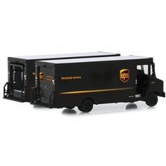 """2019 Package Car """"UPS"""" (United Parcel Service) """"H. Trucks"""" Series 17 Diecast Model by Greenlight Toy Model Cars, Diecast Model Cars, Model Trains, John Deere Toys, United Parcel Service, Farm Toys, Lego Architecture, Rubber Tires, Toy Trucks"""